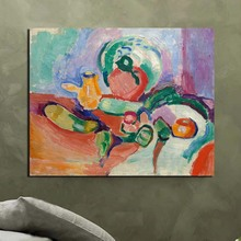 Matisse Abstract Wwatercolor Wall Art Canvas Painting Posters Prints Modern Picture For Living Room Home Decor