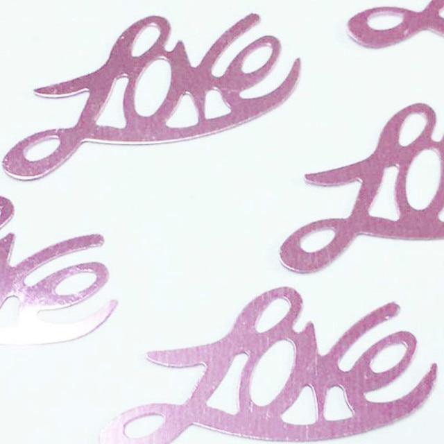 300pcs/bag English Alphabet Love Confetti Wedding Table Decoration Baby Shower Confetti Wedding Party Valentines Day Supplies