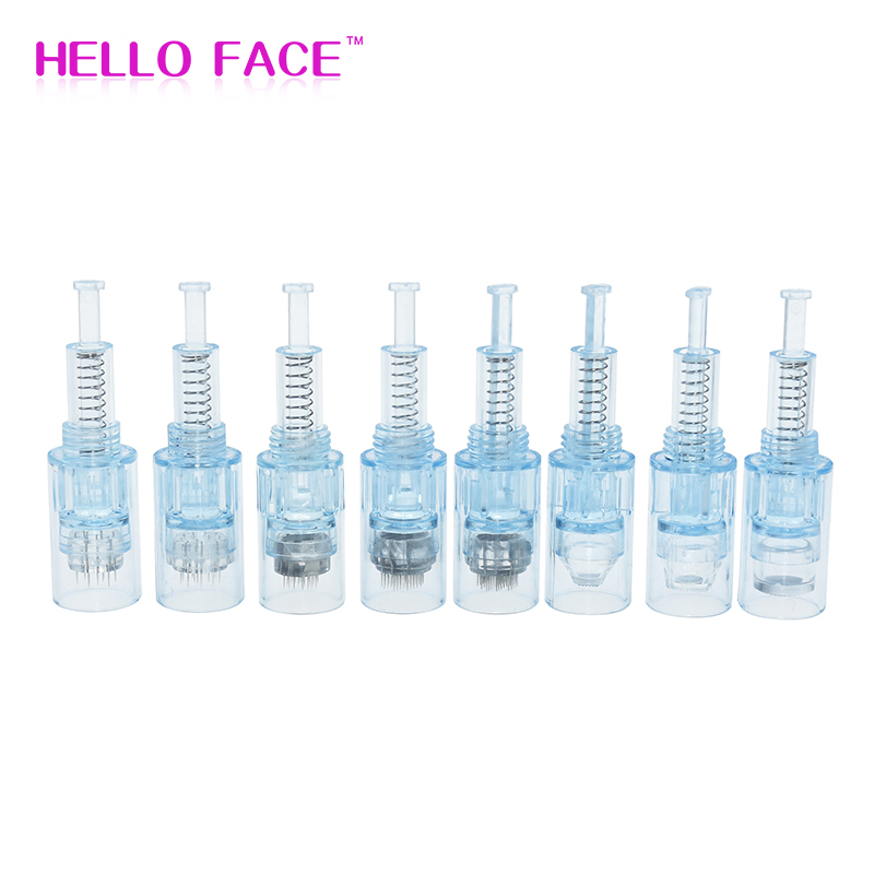 10 PCS Screw Cartridges Electric Auto Dr.Pen Ultima X5 Replacement Cartridges Needles 9 12 36 42 Pin Nano Tattoo Needle Tip