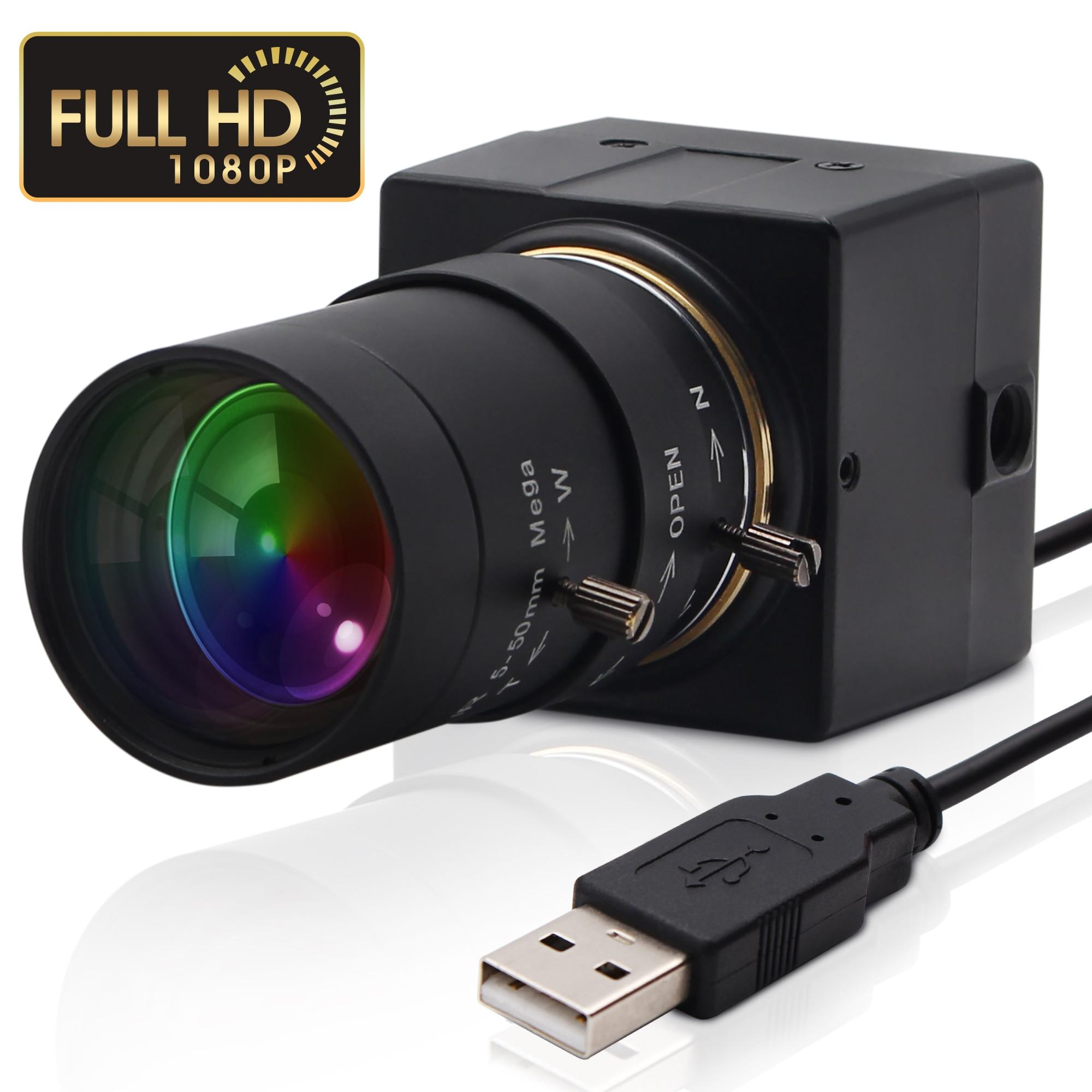 2020 haut ELP 1080P Sony IMX322 H.264 faible lumière 0.01Lux Vision industrielle Mini caméra Webcam Usb pour ordinateur portable
