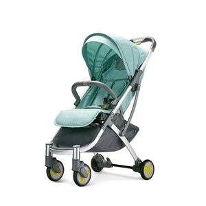 Image 1 - Многофункциональная детская коляска с высоким уровнем освещенности, складная детская коляска, легкая коляска для новорожденных