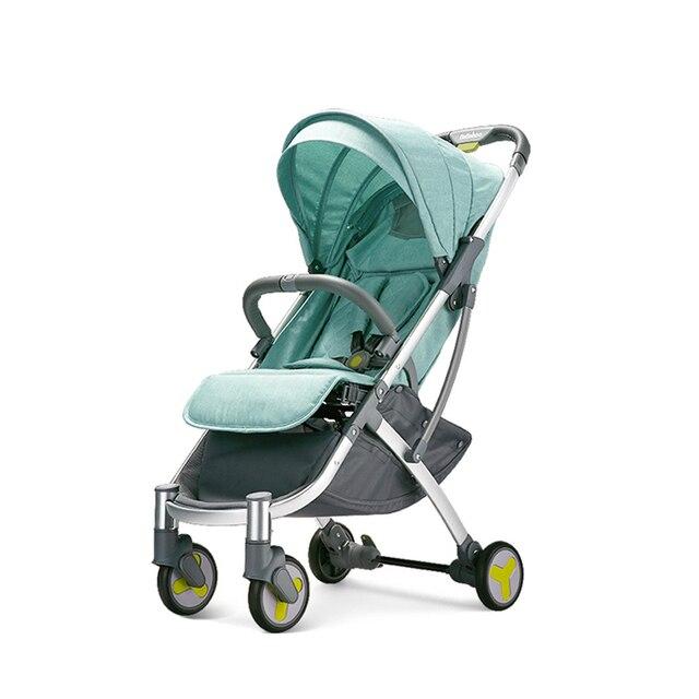 Multifunctionele Kinderwagen Hoge Landschap Kinderwagen Vouwen Kinderwagen Pasgeboren Wandelwagen Vliegtuig Lichtgewicht