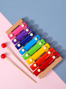 Toy Xylophone Educational-Toy Frame-Style Wooden Musical Eight-Notes Baby Kids Children's