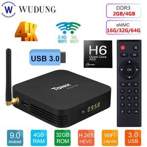 Image 5 - สมาร์ททีวีกล่องAndroid 9.0 Tanix TX6 Allwinner H6 Quad Core 4GB RAM 64GB ROM 32G 4K 2.4G/5GHz Dual WiFi Set Top Box