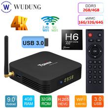 Smart TV Box Android 9 0 Tanix TX6 Allwinner H6 Quad Core 4GB RAM 64GB ROM 32G 4K 2 4G 5GHz Dual WiFi Google Player Youtube cheap HDMI 2 0 Allwinner H6 Quad core ARM Cortex-A53 Mali-T720 64GB eMMC 100M 4G DDR3 DC 5V 2A TF Card Up To 32GB Included