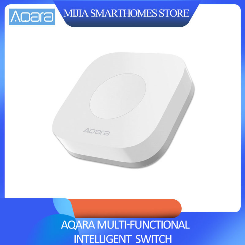 Xiaomi Mijia AQara Smart Multi-Functional Intelligent Wireless Switch Key Built In Gyro Function Work With Android IOS APP