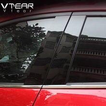 Vdéchirer – autocollant pour fenêtre de voiture Mazda 3 Axela 2014 – 2018, panneau réfléchissant de miroir, accessoires extérieurs, berline à hayon