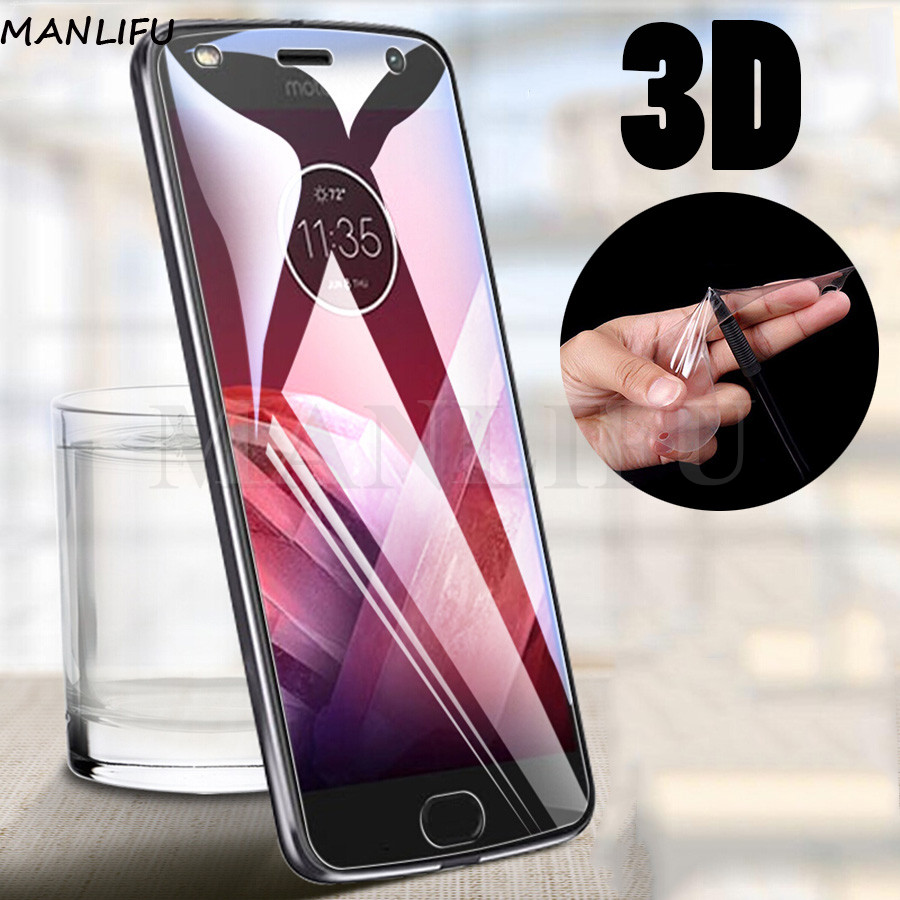 3D Silicone Soft TPU Hydrogel Film For Motorola Moto G8 G7 G6 E6 Plus Protective Screen Protector For Moto One Vision Z2 Z3 Play