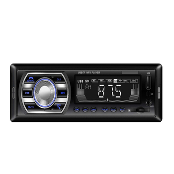 Car Radio Autoradio 1 Din Bluetooth SD MP3 Player JSD-520 car stereo FM Aux Input Receiver SD USB image