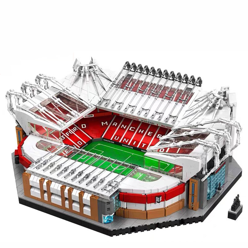 IN STOCK JJ000 10272 Old Trafford Manchester 4150PCS Creator City Street View Model Building Blocks Bricks Toys Kids Gift 10202