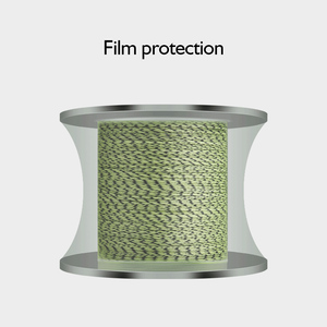 Image 2 - Fishing line 1500m 2000M super pe 8 Strands spot line mix color braided line fishing wire strong cord 8 300LBS 0.12  0.8 1.0mm