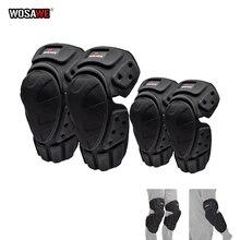 WOSAWE Motorrad Knie Schutz Körper Schutz Motocross Knie pads und Elbowpads skifahren Skateboard Pulley Reiten Schutz Getriebe