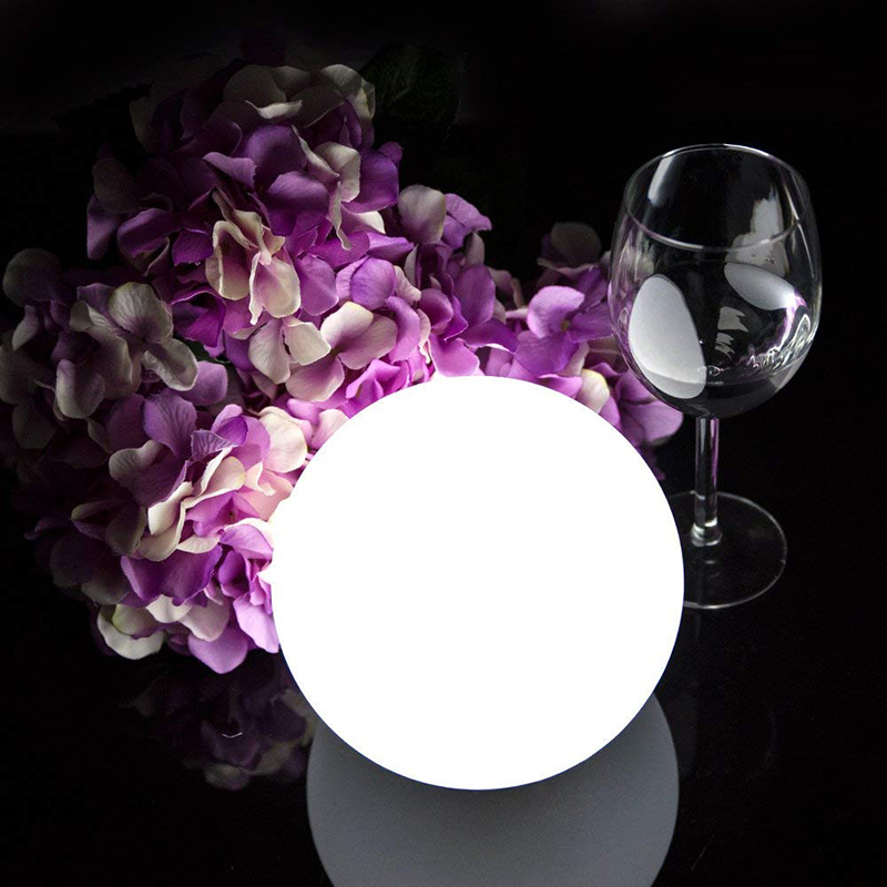 Solar LED Light Ball Cordless Night Lights With Remote Control Rechargeable Pool Floating Orb THJ99