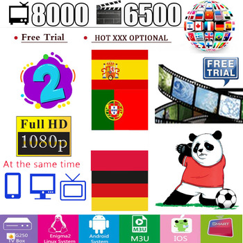 Hot sale world Iptv xxx M3u 14 months warranty for  2 screens ios android tv box vlc  Europe Spain Poland Arabic Germany Canada недорого
