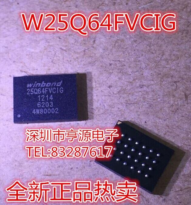 3 шт. оригинальных W25Q64FVCIG W25Q64FVCIG-FDS8949, продажа импортного чипа, качество супер хорошее