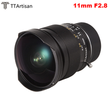 TTArtisan 11mm F2.8 objectif manuel Ultra large Fisheye pour caméras Leica à monture M pour Leica M M M240 M3 M6 M7 M8 M9 M9p M10