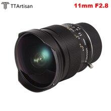 TTArtisan lente Manual de ojo de pez Ultra ancho, 11mm F2.8, para cámaras Leica m mount para Leica M M M240 M3 M6 M7 M8 M9 M9p M10