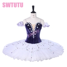 Adult Purple Tutu Ballet Professional For Sale Lilac Fairy Attendants Ballerina Costumes Competition BT9279