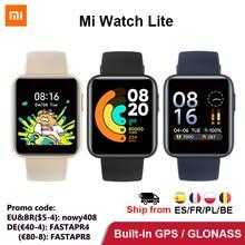 Xiaomi – montre connectée Mi Watch Lite, Version globale, GPS, moniteur d'activité physique 24H, moniteur de fréquence cardiaque, 1.4 pouces, Bluetooth 5.0