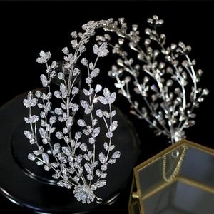 Image 3 - Accesorios para el cabello de alta calidad para novia, accesorios hechos a mano para el cabello, accesorios de boda, diadema, corona de tiara para mujer