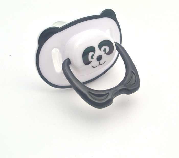 Lucu Panda Puting Dummy Dot BABY Makanan Grade PP Silicone Soother Balita Ortodonti Puting dengan Ring Teether Dot Bayi
