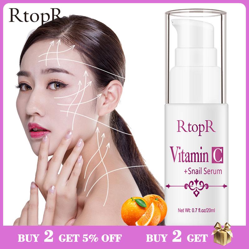 Сыворотка для омоложения улитки VitaminC, сыворотка для кожи против морщин, укрепляющая, яркая, для лечения лица, восстанавливающая сыворотка с коллагеном улитки Сыворотка      АлиЭкспресс
