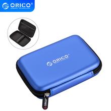 ORICO PHB-25 2 5 #8222 2 5 Cal torba ochronna do zewnętrznego przenośnego pudełka HDD-niebieski czarny różowy tanie tanio CN (pochodzenie) Neoprene 2 5 HDD Protection Bag Blue Black Pink Interlayer design 150*100*35mm