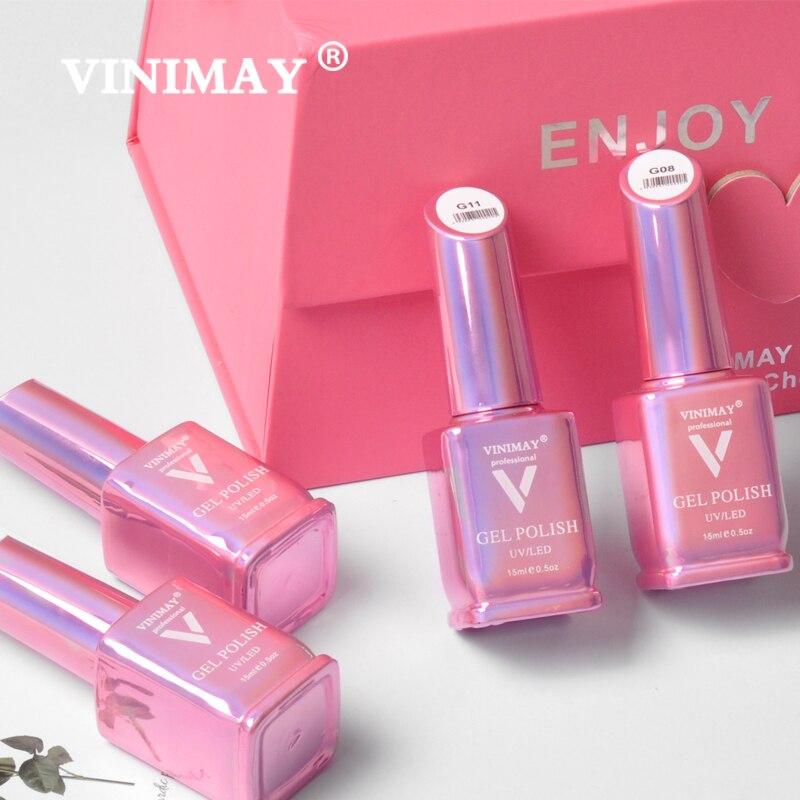Image 5 - VINIMAY Hot Sale Red Gel Nail Polish vernis semi permanant UV Soak Off Gelpolish Nail Art Gel Varnish Manicure Nails Gel Lacque-in Nail Gel from Beauty & Health