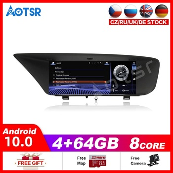 Car Multimedia Player Stereo DVD Radio NAVI Android10.0 4+64GB Screen for Lexus GS F L10 GS200t GS300 GS350 GS450h 2012~2019 image