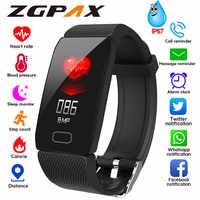 Sport Smart Uhr Männer Smartwatch Frauen Smart Uhr Blutdruck Herz Rate Monitor Wasserdichte Smartwatch Uhr Für Android IOS