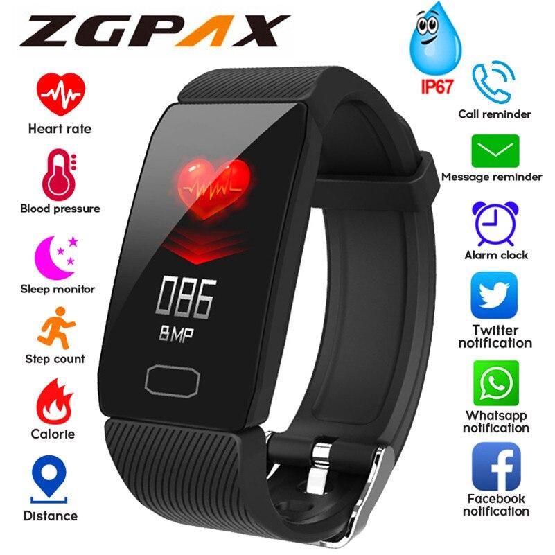 Sport Smart Watch Men Smartwatch Women Smart Watch Blood Pressure Heart Rate Monitor Waterproof Smartwatch Watch For Android IOS