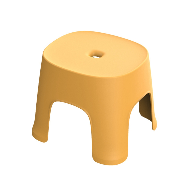 Hot Sale Small Bench Anti-Skid Coffee Table Plastic Simple Stool Adult Thickening Children'S Stool For Shoes Short Stool