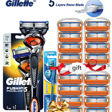 Razors-Machine Shaver Cassettes Safety-Knife Replacebale-Blades Gillette Fusion Proglide