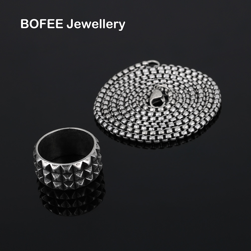 BOFEE ring pendant necklace