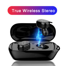T2C TWS Wireless Mini Bluetooth Earphone For Xiaomi Huawei Mobile Stereo Earbud Sport Ear Phone With Mic Portable Charging Box(China)