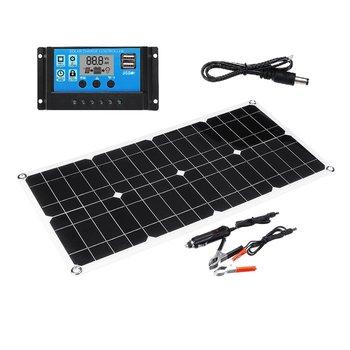Polycrystalline Flexible Multi-Purpose Mobile Phone Charging Solar Power Board Portable Dual Usb Emergency Charging Board