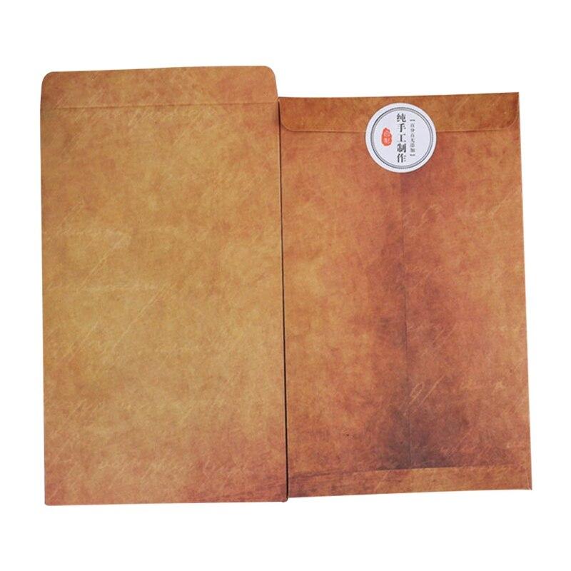 Vintage Envelope 10PCS/Set Creative Kraft Paper Envelopes DIY Decorative Envelope Small Paper School Office Supplies