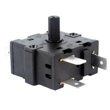 RT233-4 3 Pinos Interruptor do Aquecedor Mini Interruptor de Toque Certificação VDE Alemão Padrão Durável Preto 16A 250 V