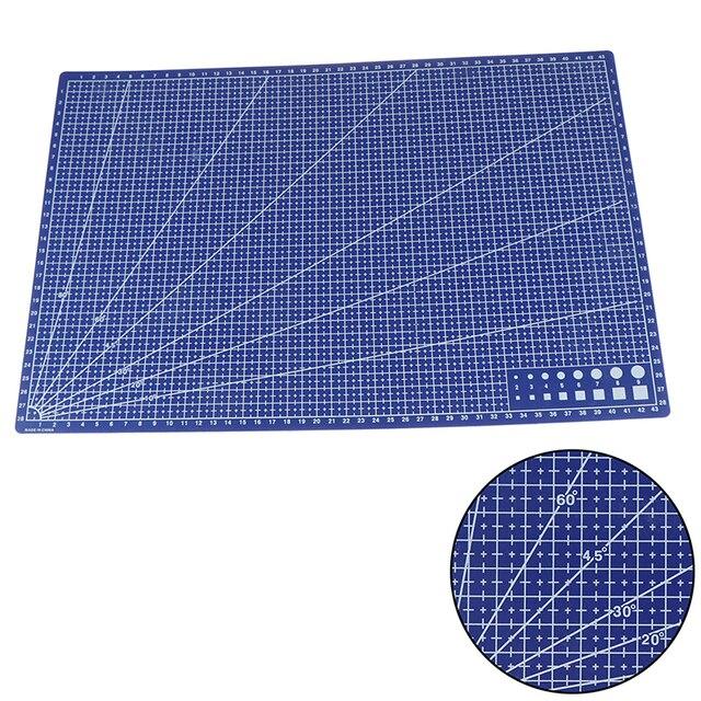 A3 tapis de coupe tapis Patchwork coupe tampon Patchwork outils bricolage outil planche à découper PP plastique empêcher le bureau dêtre coupé