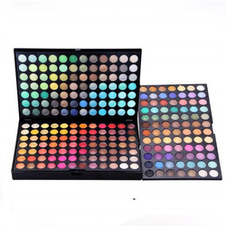 Professional 252 Colors Ultimate Eyeshadow Eye Shadow Palette Cosmetic Makeup Kit Set Make up Matte Shimmer Palette Box