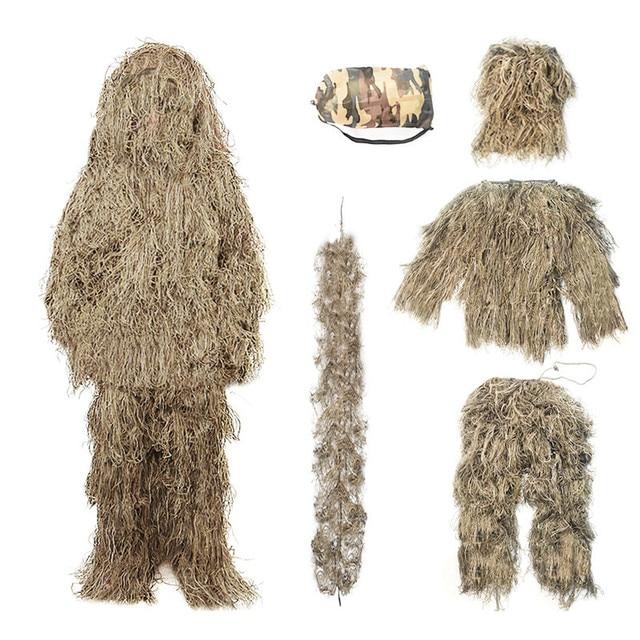 Купить 5 шт детский камуфляжный костюм «кленовый лист» картинки цена