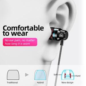 Image 5 - ANMONE auriculares intrauditivos con cable, dispositivo deportivo de 3,5mm con micrófono y estéreo de graves para iphone 7, 11 pro y xiaomi
