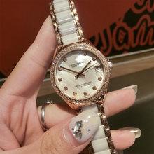 Часы наручные женские с зеркальным стеклом брендовые Роскошные