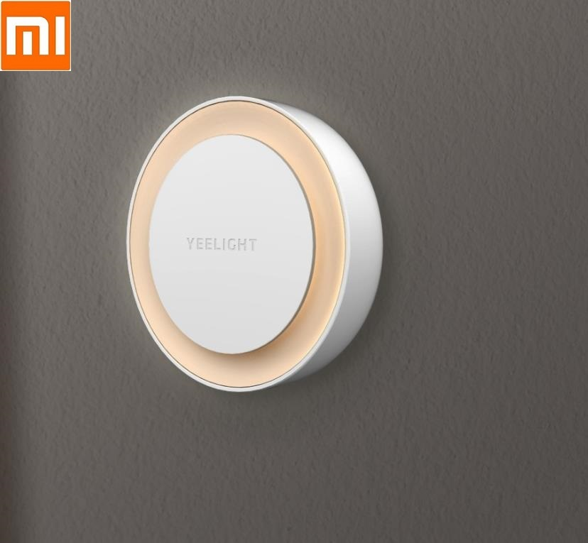 Xiaomi Yeelight Light Sensor Plug-in LED Night Light Ultra-Low Power Bedroom Corridor Bedside Intelligent  Light Control