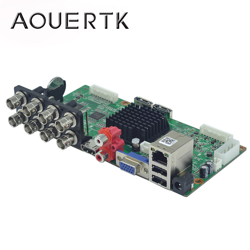 AOUERTK  3MP/4MP/5MP/1080P /960P  5in 1 AHD 8CH CCTV DVR Board Support Motion Detection And 5 Record Mode H.265x