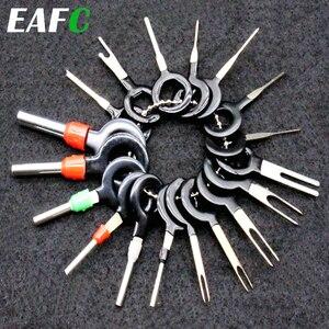 18Pcs 11Pcs Automotive Plug Terminal Remove Tool Set Key Pin Car Electrical Wire Crimp Connector Extractor Kit Accessories(China)