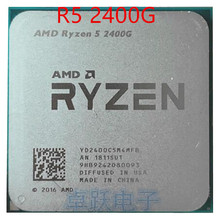 AMD Ryzen 5 2400G R5 2400G 3.6 GHz Quad Core Quad Thread 65W CPU Processor YD2400C5M4MFB Socket AM4