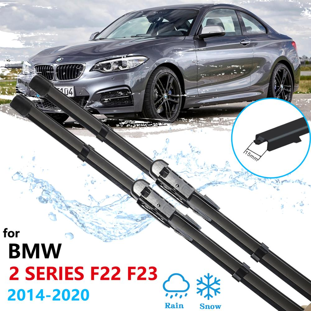 Car Wiper Blades for BMW 2 Series F22 F23 2014~2020 Windscreen Wipers 218i 220i 228i 230i M235i M240i 218d 220d 22d M235i M240i image