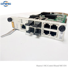 HUA WEI 4 * 10GE płyta główna MCUD1 interfejs sterowania wykorzystanie dla HUAWEI MA5608T MA5683T OLT, Optyczny terminal linii