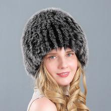 Зимние шапки в русском стиле плотные пушистые женские из искусственного